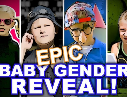 Epic Baby Gender Reveal – A Pickering Spy Movie
