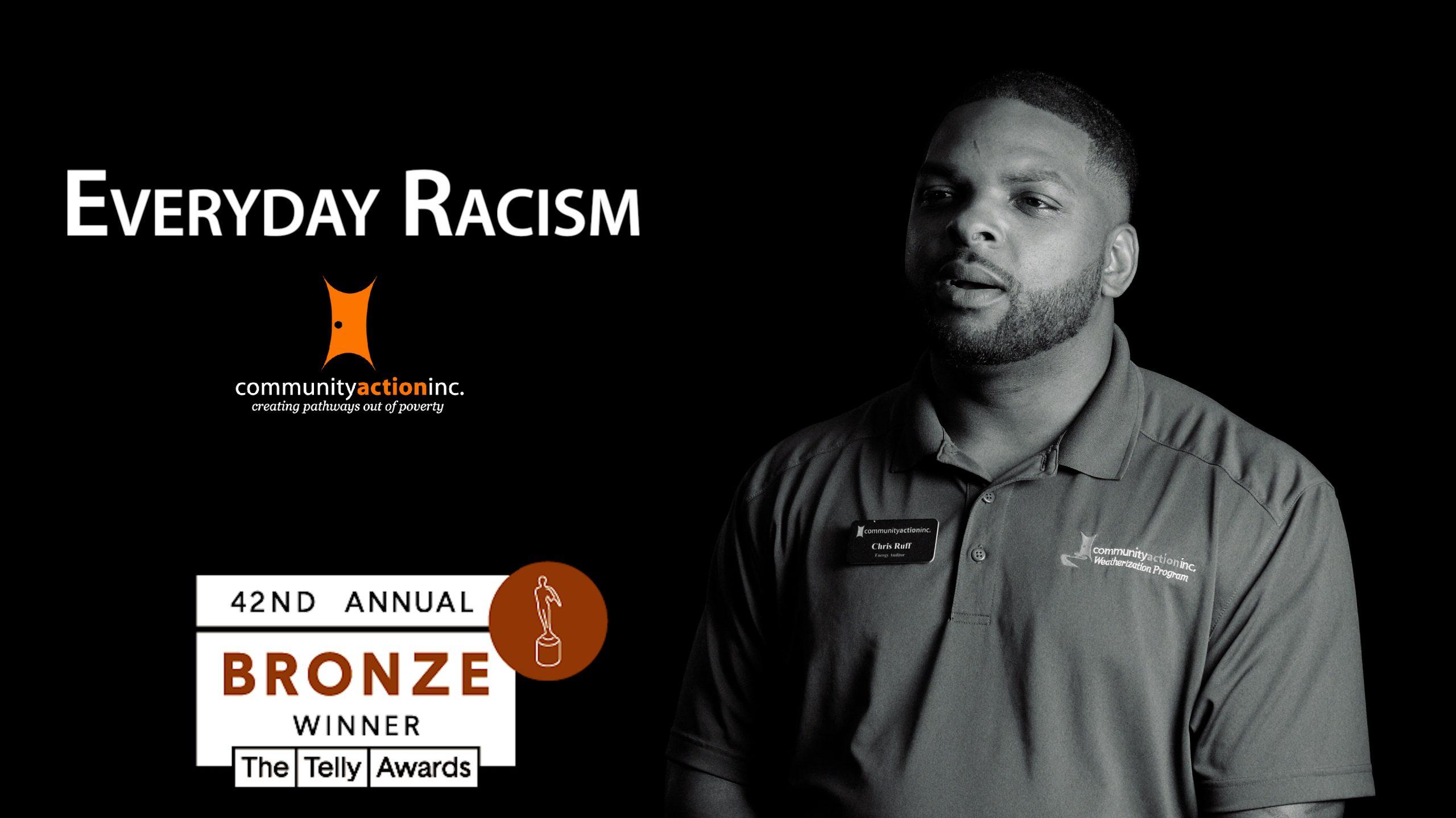 Everyday Racism video thumbnail telly award